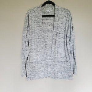 Sonoma grandpa cardigan sweater gray extra large